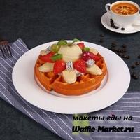 Макет Венской вафли №22