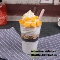 Макет Мороженое в стаканчике №6