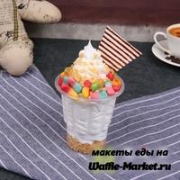 Макет Мороженое в стаканчике №3