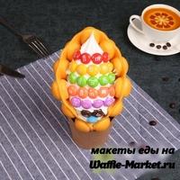 Макет Гонконгской вафли №33