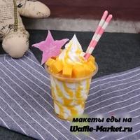 Макет Мороженое в стаканчике №1