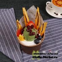 Макет Мороженое в стаканчике №13