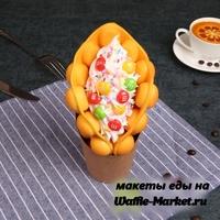 Макет Гонконгской вафли №19