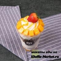 Макет Мороженое в стаканчике №9
