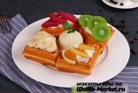 Макет Венской вафли №2