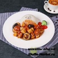 Макет Блюда из риса №7
