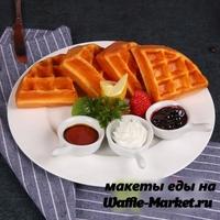 Макет Венской вафли №12