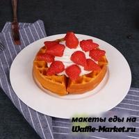 Макет Венской вафли №5