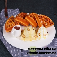 Макет Венской вафли №6
