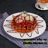 Макет Венской вафли №7