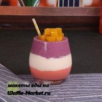 Макет Молочных коктейлей и десертов №3
