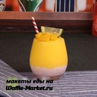 Макет Молочных коктейлей и десертов №4