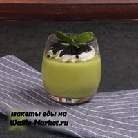 Макет Молочных коктейлей и десертов №9