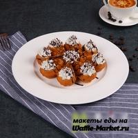 Макет Вафли-цветочка №2