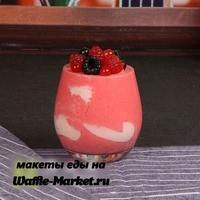 Макет Молочных коктейлей и десертов №7