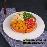Макет Венской вафли №10