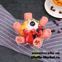 Макет Жареное ролл-мороженое №2